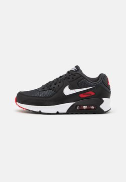 Nike Sportswear - AIR MAX 90 UNISEX - Baskets basses - dark smoke grey/white/black/university red