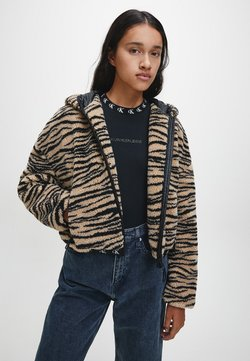 Calvin Klein Jeans - Winterjacke - zebra aop irish cream black