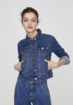 PULL&BEAR - Veste en jean - light-blue denim