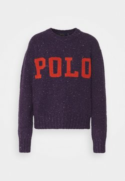 Polo Ralph Lauren - DONEGAL - Strickpullover - plum/multi