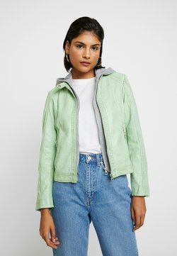 Gipsy - AELLY LAMAS - Leren jas - mint