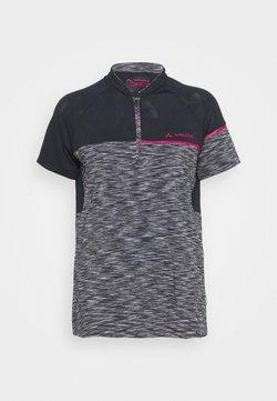 Vaude - ALTISSIMO - T-Shirt print - black