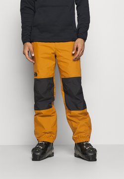 The North Face - UP & OVER PANT TIMBER - Täckbyxor - tan/black