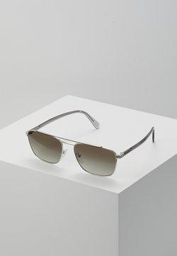 Prada - Lunettes de soleil - brown/silver-coloured