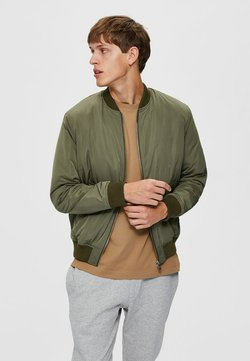 Selected Homme - Giubbotto Bomber - dusty olive