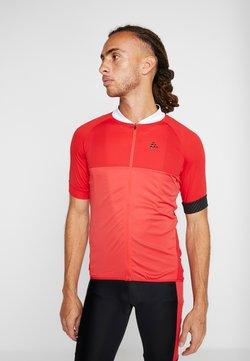 Craft - ADOPT  - T-Shirt print - bright red/white