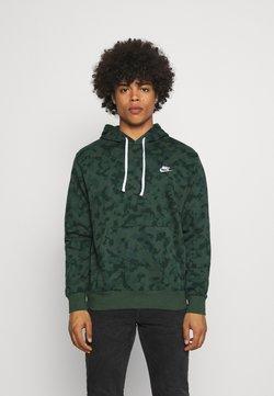 Nike Sportswear - CLUB HOODIE - Felpa - galactic jade