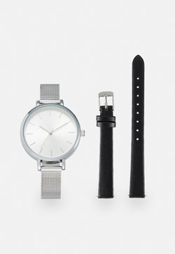 Even&Odd - SET - Montre - black/silver