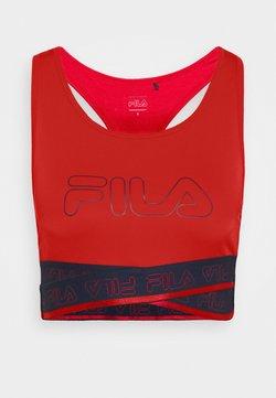 Fila - ALEVTINA BRA - Sport BH - true red/black iris