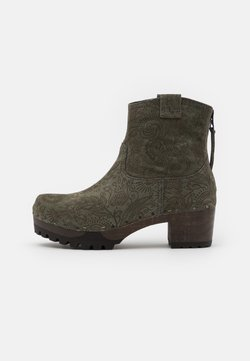 Softclox - Plateaustiefelette - olive