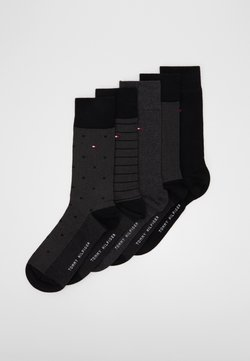 Tommy Hilfiger - SOCK BIRDEYE GIFTBOX 5 PACK - Chaussettes - black