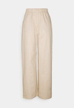 Nly by Nelly - PULL ON STRAIGHT LEG PANTS - Bukser - beige