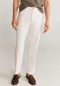Mango - BRIEN-I - Pantalones - bílá
