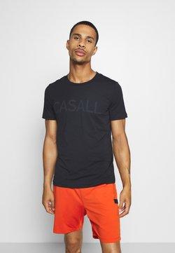 Casall - LOGO TEE - Printtipaita - black