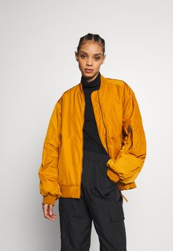 Monki - JOY BIG - Blouson Bomber - yellow