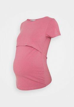 Anna Field MAMA - NURSING Basic T-shirt - Camiseta básica - pink