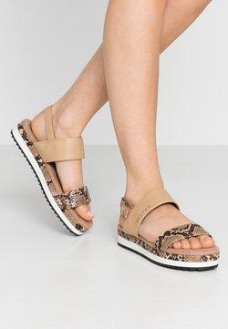 JETTE - Korkeakorkoiset sandaalit - rose