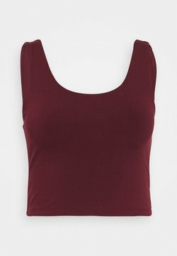 Cotton On Body - LIFESTYLE SCOOP BACK VESTLETTE - Top - mulberry