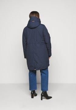 Ragwear Plus - ELBA COAT PLUS - Parka - navy