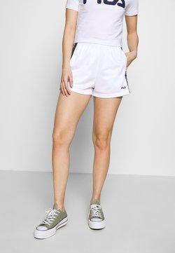Fila Petite - TARIN HIGH WAIST PETITE - Shorts - bright white/black