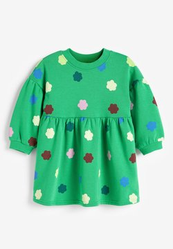 Next - BALLOON SLEEVE - Vestido informal - green