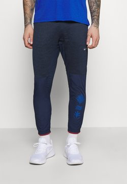Nike Performance - ELITE PANT - Pantalones deportivos - midnight navy/reflective silver