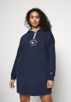 Tommy Jeans Curve - TIMELESS DRESS - Day dress - twilight navy