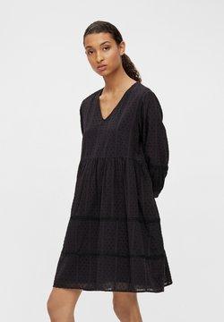 Object - OBJGEILLIS 3/4 DRESS - Robe d'été - black