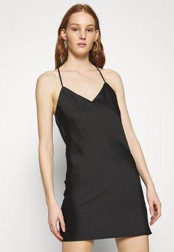Topshop - SLIP UPDATE - Cocktailkleid/festliches Kleid - black