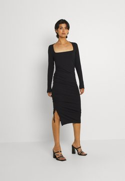 Envii - ENZOE SQUARE DRESS - Vestido de tubo - black