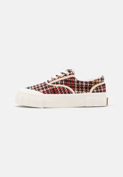 Good News - CHECK UNISEX - Sneaker low - brown/blue