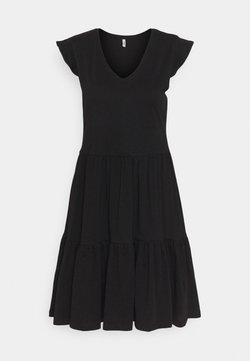 ONLY Tall - ONLMAY LIFE CAP FRILL DRESS - Vestido ligero - black
