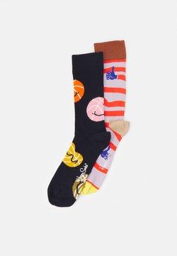 Happy Socks - BALLS YAAAY 2 PACK UNISEX - Socken - multi