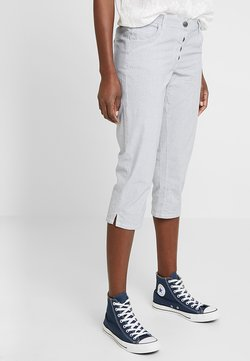 TOM TAILOR - TAPERED RELAXED - Shorts - blue