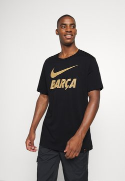 Nike Performance - FC BARCELONA TEE GROUND - Pelipaita - black