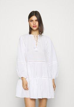 Seafolly - BEACH EDIT BAYSIDE LADDER TRIM DRESS - Beach accessory - white