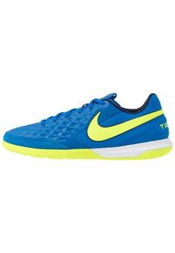 Nike Performance - TIEMPO LEGEND 8 ACADEMY IC - Fotbollsskor inomhusskor - soar/volt/midnight navy