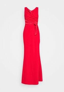 WAL G. - BARDOT BAND DRESS - Iltapuku - red