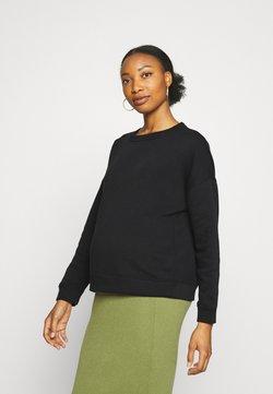 Pieces Maternity - PCMCHILLI - Sweatshirt - black