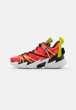 Jordan - WHY NOT ZER0.3 SE UNISEX - Zapatillas de baloncesto - bright crimson/black/universe red/white/bright cactus/citron pulse