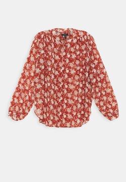 rag & bone - CARLY FLORAL TIE - Bluse - pecan