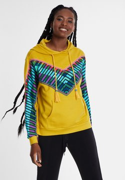 Desigual - PEPPERSS - Jersey con capucha - yellow