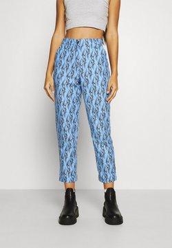 Local Heroes - TRIBAL LOVE PANTS - Spodnie materiałowe - blue