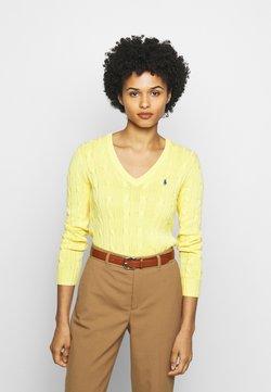 Polo Ralph Lauren - KIMBERLY - Jumper - lemon