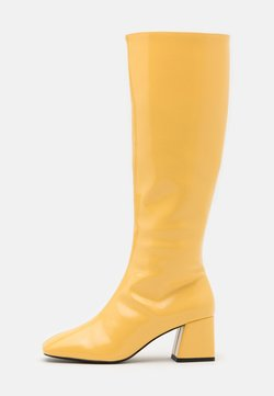 Monki - VEGAN PATTIE BOOT - Høje støvler/ Støvler - yellow