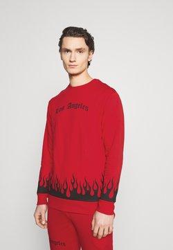 274 - FLAME TRACKSUIT - Sweatshirt - red