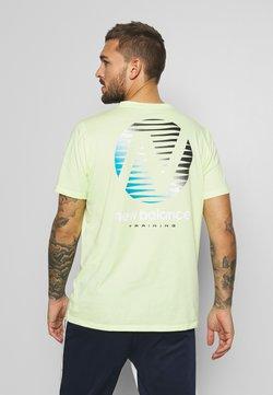 New Balance - GRAPHIC HEATHERTECH - T-Shirt print - neon green