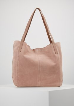 Anna Field - LEATHER - Tote bag - rose