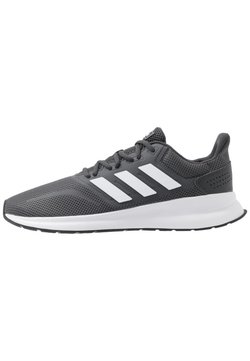 adidas Performance - RUNFALCON - Zapatillas de running neutras - grey six/footwear white/core black