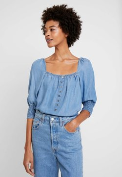 Cream - VINCACR - Bluse - blue denim